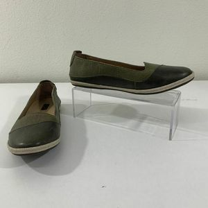 Olukai Leather Shoes W Lino Smooth Flats Size 6